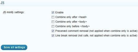minify settings js