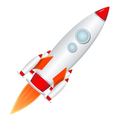 rocket speed