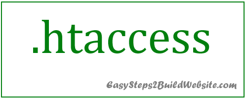 How to create .htaccess file in WordPress