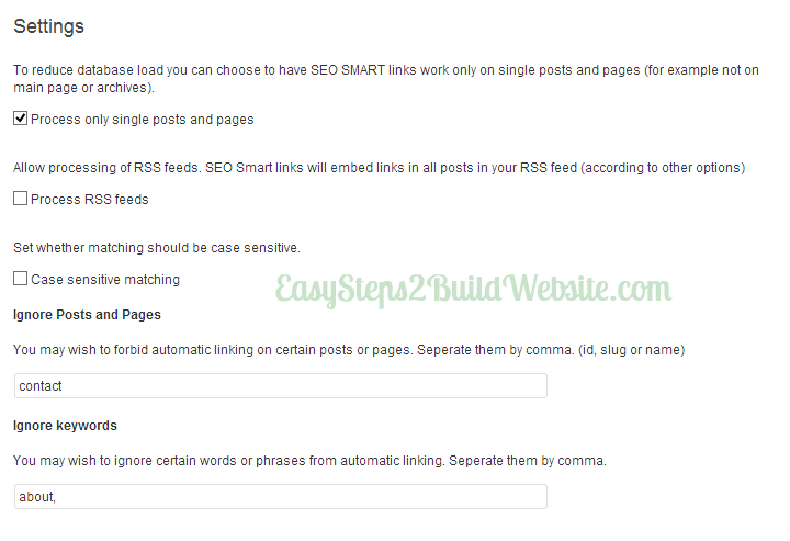 seo smart links plugin