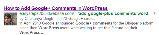 Implement Verified Google+ Authorship in WordPress