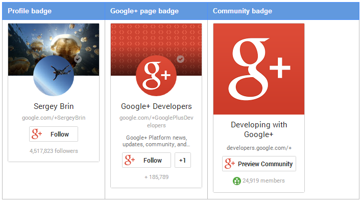 "Google+ ""Add to Circles"" Badge for WordPress"
