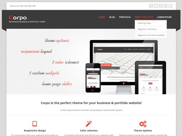 Corpo-responsive-free-portfolio-theme