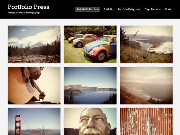 10 Free Responsive Portfolio WordPress Themes – Free download