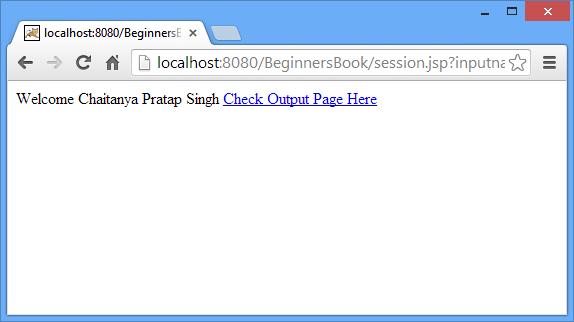 User-jsp-page