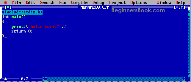 How to install Turbo C++: Compile and Run a C Program