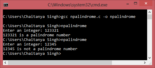 Download Free Software C Program To Check Palindrome