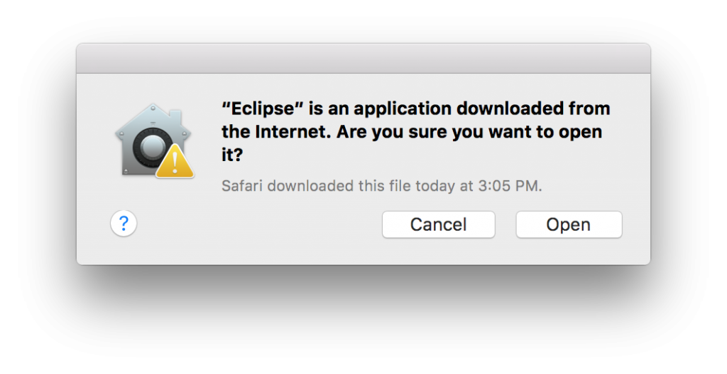 How to install Eclipse on Mac OS X