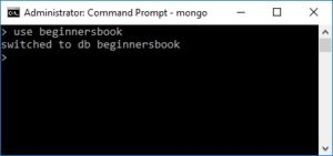 Creating Database in MongoDB
