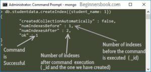 MongoDB create index