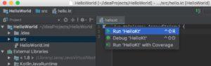 Run Kotlin Project