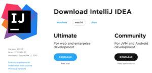 download IntelliJ IDEA IDE