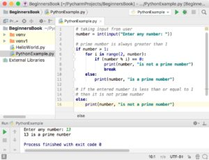 Python program to check if number is prime or not