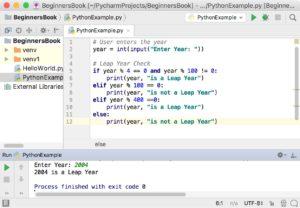 Python Program to check leap Year