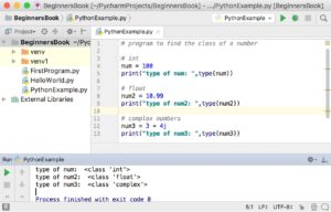 Python numbers data type