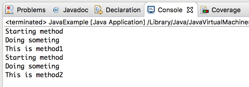 interface in java with example pdf