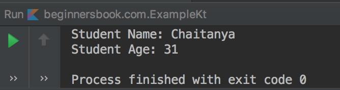 Kotlin constructor example