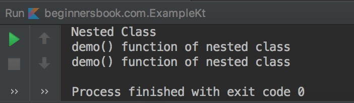 Kotlin Nested and Inner Class