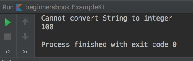 Kotlin try expression