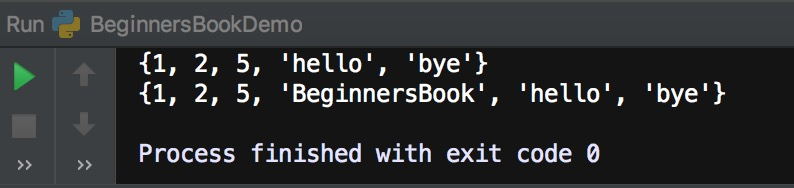 Python add() method example