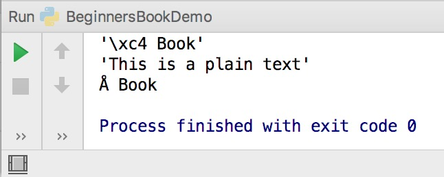 Python ascii function example
