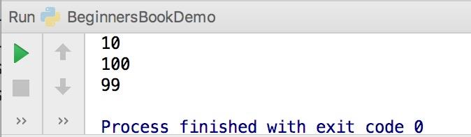 Python Identifiers Example