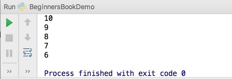 Python keyword example