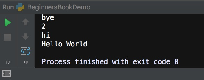 Python set loop