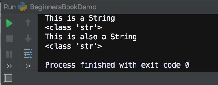 Python string data type