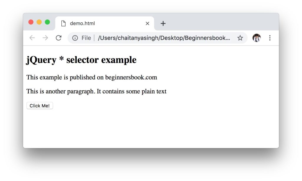 jQuery * Selector